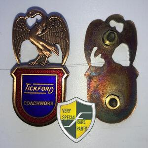 Tickford Coachwork badge