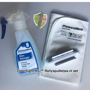 ClearSight RS™ -Set- De natuurlijke ruitenwisser van Rallyspulletjes.nl